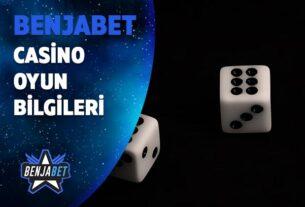 benjabet casino oyun bilgileri