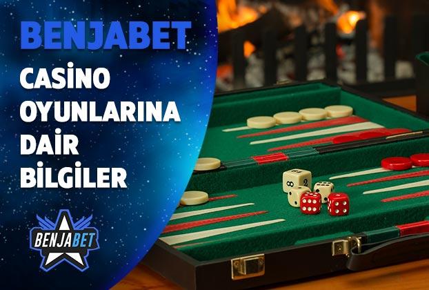 benjabet casino oyunlarina dair bilgiler