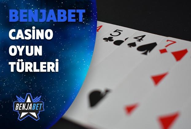 benjabet casino oyun turleri