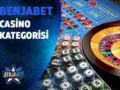 benjabet casino kategorisi