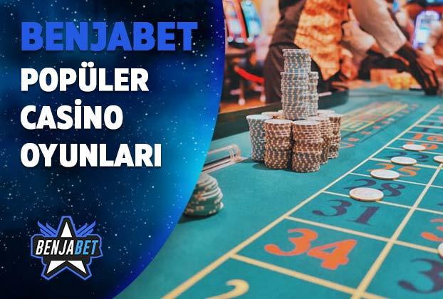 benjabet populer casino oyunlari